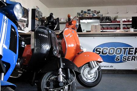 vespa werkstatt scooter service. Black Bedroom Furniture Sets. Home Design Ideas