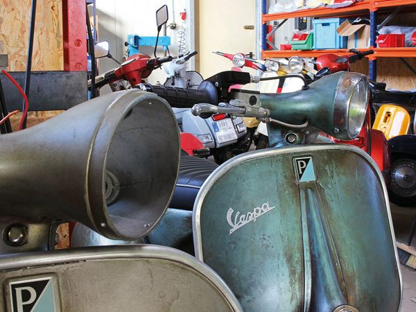 Vespa Werkstatt - Reparatur