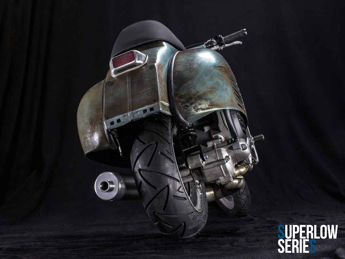 Custom Vespa Superlow Series Rawstyle