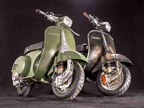 VESPA 50N QUATTRINI 200 DOUBLE - FEATURE